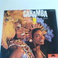 Discos de vinilo: ROBERTO DELGADO Y SU ORQUESTA CARAMBA ( 1965 POLYDOR ESPAÑA ). Lote 288046453
