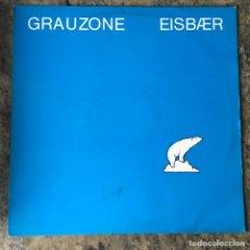 Discos de vinilo: GRAUZONE - EISBÆR . MAXI SINGLE . 1982 HOLLAND. Lote 288053573