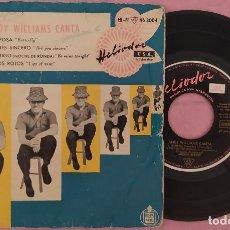 """Discos de vinilo: 7"""" ANDY WILLIAMS - ANDY WILLIAMS CANTA... HELIODOR 46 3004 - SPAIN- EP (VG+/VG+). Lote 288054543"""