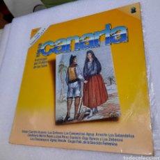 Discos de vinilo: ANTOLOGIA DEL FOLKLORE DE LAS ISLAS. TIERRA CANARIA NÚMERO 2. Lote 288055233