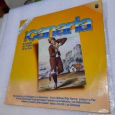Discos de vinilo: ANTOLOGIA DEL FOLKLORE DE LAS ISLAS. TIERRA CANARIA NÚMERO 3. Lote 288056598