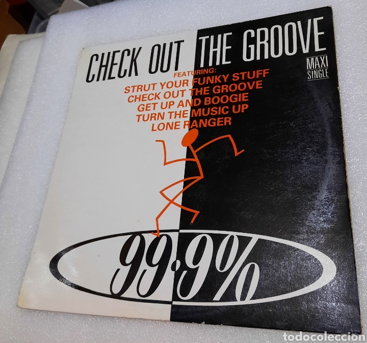 CHECK OUT THE GROOVE (Música - Discos de Vinilo - Maxi Singles - Pop - Rock - New Wave Internacional de los 80)