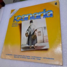 Discos de vinilo: ANTOLOGIA DEL FOLKLORE DE LAS ISLAS. TIERRA CANARIA NÚMERO 5. Lote 288057283