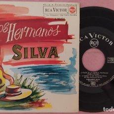 """Discos de vinilo: 7"""" LOS HERMANOS SILVA - LA FLOR DE LA CANELA - RCA 3-20424 - SPAIN -EP (EX-/EX-). Lote 288058458"""