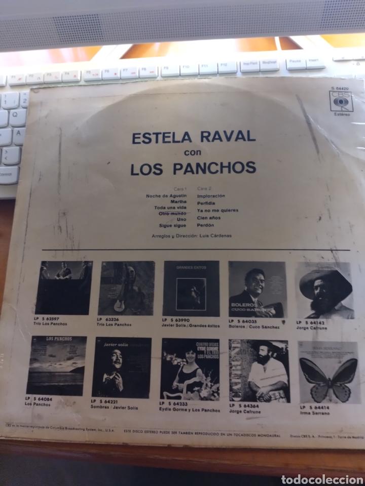 Discos de vinilo: Estela Raval con los panchos. Edición CBS - Foto 2 - 288059278