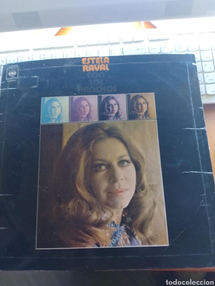 ESTELA RAVAL CON LOS PANCHOS. EDICIÓN CBS (Música - Discos - LP Vinilo - Solistas Españoles de los 50 y 60)