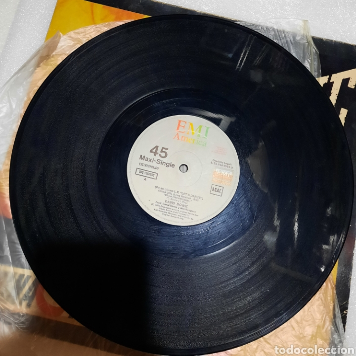 Discos de vinilo: David Bowie - China girl - Foto 3 - 288059638