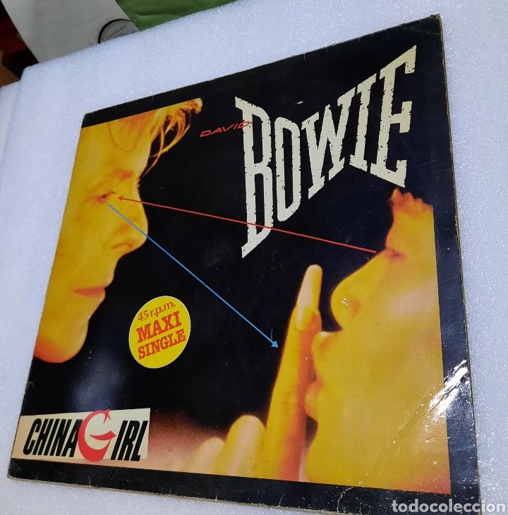 DAVID BOWIE - CHINA GIRL (Música - Discos de Vinilo - Maxi Singles - Pop - Rock - New Wave Internacional de los 80)