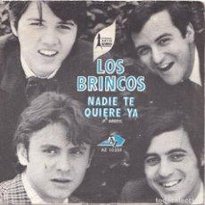 Discos de vinilo: LOS BRINCOS - NADIE TE QUIERE YA (EDITADO EN FRANCIA). Lote 288059728