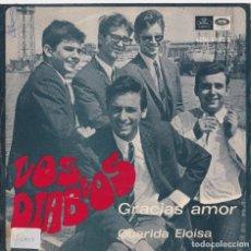 Discos de vinilo: LOS DIABLOS - QUERIDA ELOÍSA - GRACIAS AMOR (RARO). Lote 288060098