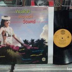 Discos de vinilo: WAIKIKI HAWAII BOUND. DOBLON 1986, REF. 50.1919 -- LP. Lote 288064733