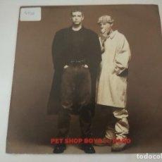 Discos de vinilo: PET SHOP BOYS/SO HARD/SINGLE.. Lote 288065093