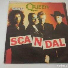 Discos de vinilo: QUEEN/SCANDALL/SINGLE.. Lote 288067628