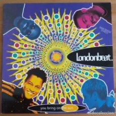 Discos de vinilo: LONDONBEAT - YOU BRING ON THE SUN (MX) 1992. Lote 288068788