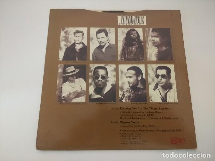 Discos de vinilo: UB 40/THE WAY YOU DO THE THINGS YOU DO/SINGLE. - Foto 3 - 288068838
