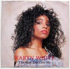 Discos de vinilo: KARYN WHITE - THE WAY YOU LOVE ME - MAXI WARNER BROS. RECORDS 1989 UK BPY. Lote 288085998
