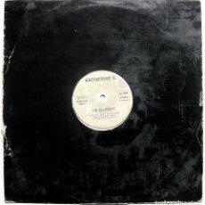Discos de vinilo: KATHERINE E. - I'M ALLRIGHT - MAXI WHOLE RECORDS 1991 ITALIA BPY. Lote 288086793