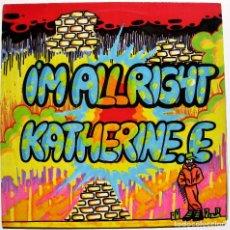 Discos de vinilo: KATHERINE E. - I'M ALLRIGHT - MAXI PINK RECORDS 1991 BPY. Lote 288089183