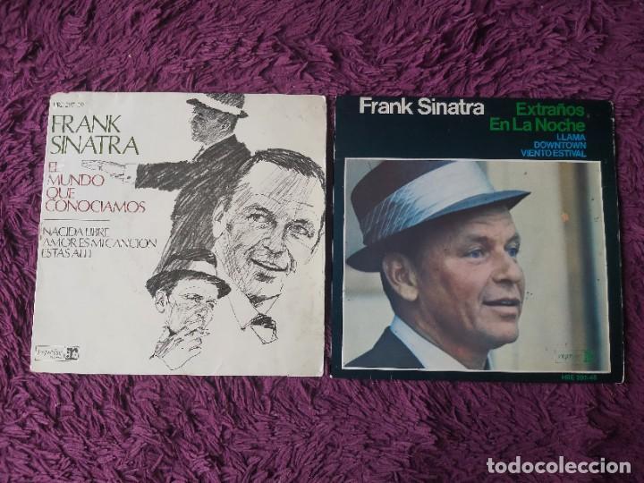 """FRANK SINATRA ,2 X VINYL, 7"""" EP SPAIN (Música - Discos de Vinilo - EPs - Pop - Rock Internacional de los 50 y 60)"""