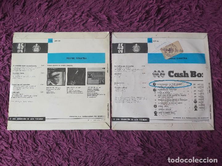 """Discos de vinilo: Frank Sinatra ,2 x Vinyl, 7"""" EP Spain - Foto 2 - 288093078"""