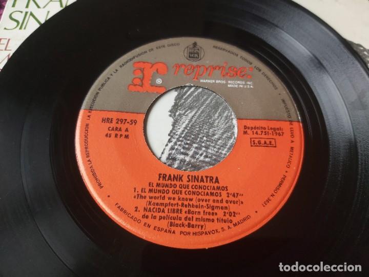 """Discos de vinilo: Frank Sinatra ,2 x Vinyl, 7"""" EP Spain - Foto 4 - 288093078"""