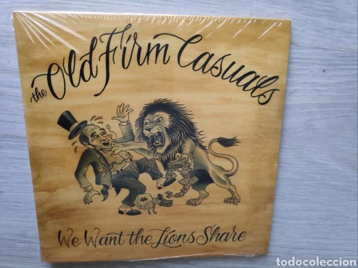 "ÁLBUM EP DISCO VINILO 7"" OLD FIRM CASUALS WE WANT THE LIONS SHARE NUEVO (Música - Discos de Vinilo - EPs - Punk - Hard Core)"