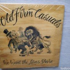 "Discos de vinilo: ÁLBUM EP DISCO VINILO 7"" OLD FIRM CASUALS WE WANT THE LIONS SHARE NUEVO. Lote 288097448"
