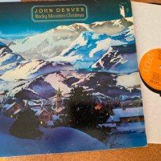 Discos de vinilo: JOHN DENVER (ROCKY MOUNTAIN CHRISTMAS) LP GAT. 1975 (B-33). Lote 288099493