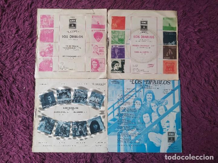 """Discos de vinilo: Los Diablos ,4 x Vinyl, 7"""" Single Spain - Foto 2 - 288099558"""