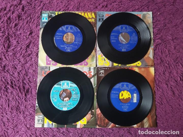 """Discos de vinilo: Los Diablos ,4 x Vinyl, 7"""" Single Spain - Foto 3 - 288099558"""