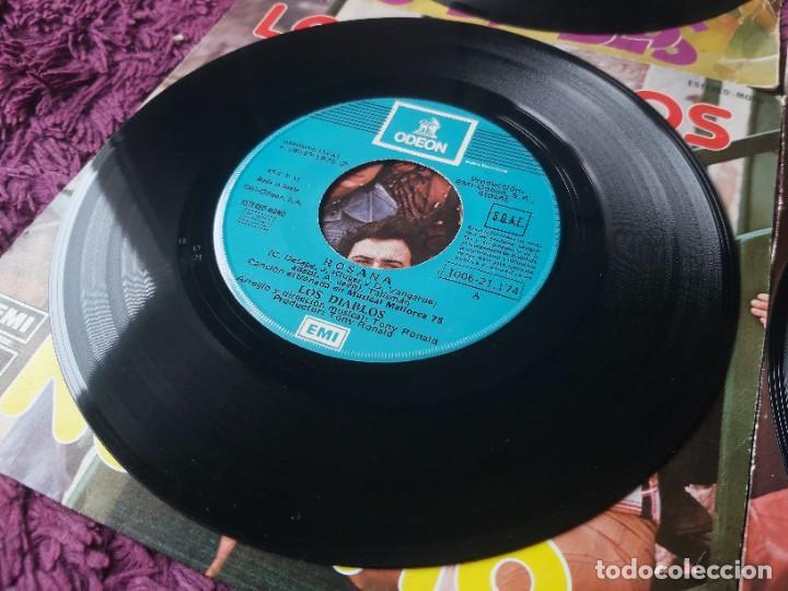 """Discos de vinilo: Los Diablos ,4 x Vinyl, 7"""" Single Spain - Foto 5 - 288099558"""