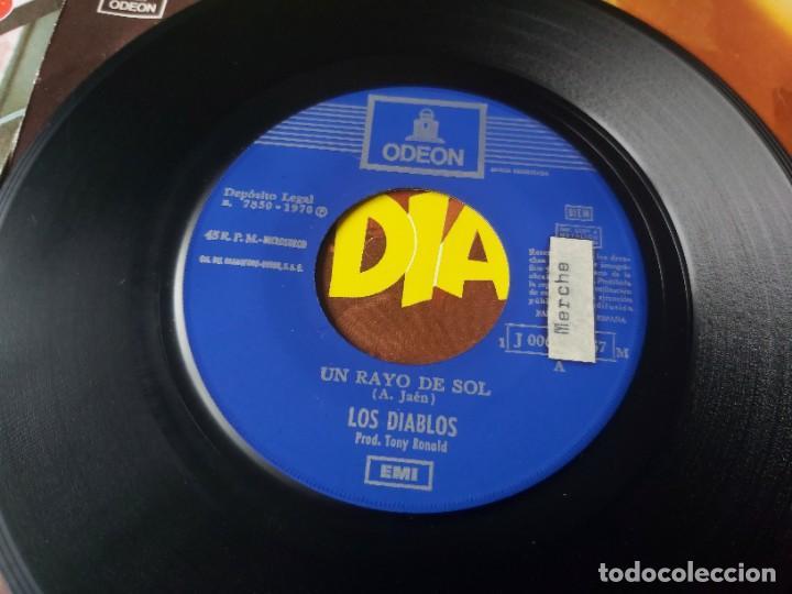 """Discos de vinilo: Los Diablos ,4 x Vinyl, 7"""" Single Spain - Foto 6 - 288099558"""