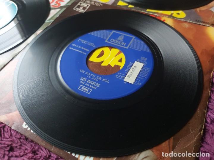 """Discos de vinilo: Los Diablos ,4 x Vinyl, 7"""" Single Spain - Foto 7 - 288099558"""