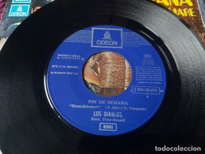 """Discos de vinilo: Los Diablos ,4 x Vinyl, 7"""" Single Spain - Foto 8 - 288099558"""