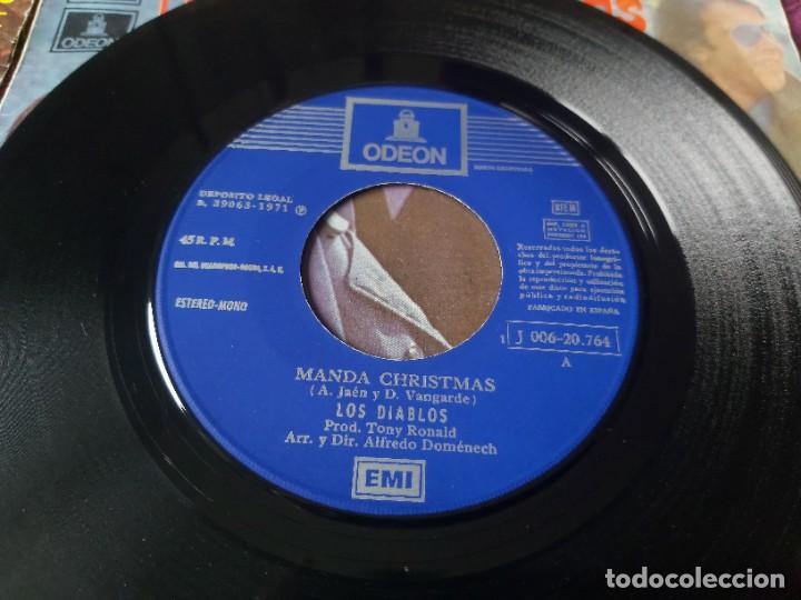 """Discos de vinilo: Los Diablos ,4 x Vinyl, 7"""" Single Spain - Foto 10 - 288099558"""