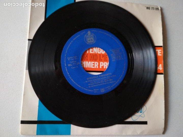 Discos de vinilo: GIGLIOLA CINQUETTI-NO TENGO EDAD PARA AMARTE + 3 FESTIVAL SAN REMO 1964 EP - Foto 3 - 288099713
