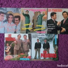 """Discos de vinilo: LOS PAQUIROS ,5 X VINYL, 7"""" EP SPAIN. Lote 288104368"""