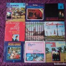 """Discos de vinilo: LOS HERMANOS REYES ,9 X VINYL, 7"""" EP SPAIN. Lote 288105748"""