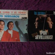 """Discos de vinilo: LOS SERRANOS ,2 X VINYL, 7"""" EP SPAIN. Lote 288106093"""