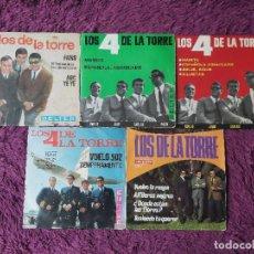 """Discos de vinilo: LOS DE LA TORRE ,5 X VINYL, 7"""" EP SPAIN. Lote 288106648"""