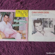 "Discos de vinilo: CHRISTOPHER CROSS ,2 X VINYL, 7"" SINGLE SPAIN. Lote 288112413"