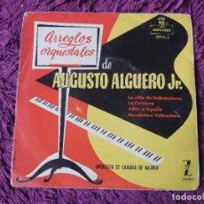 """Discos de vinilo: ARREGLOS ORQUESTALES DE AUGUSTO ALGUERO JR. VINYL, 7"""" EP SPAIN EPFM-2. Lote 288114218"""