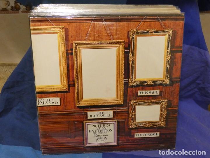 LOTT133-140 LP ROCK SINFONICO EMERSON LAKE AND PALMER PICTURES EXHIBITION ALEMANIA 70S MUY BIEN (Música - Discos - LP Vinilo - Pop - Rock - Internacional de los 70)