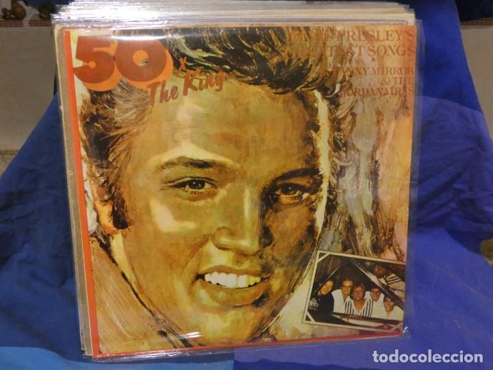 LOTT133-140 LP RUMANIA 1977 50 X THE KING DANY MIRROR AND THE JORDANAIRES (Música - Discos - LP Vinilo - Pop - Rock - Internacional de los 70)