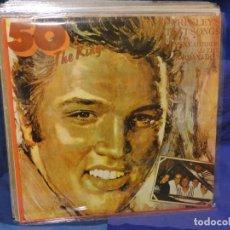 Discos de vinilo: LOTT133-140 LP RUMANIA 1977 50 X THE KING DANY MIRROR AND THE JORDANAIRES. Lote 288114748