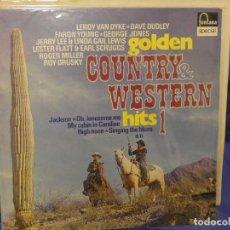 Discos de vinilo: LOTT133-140 LP COUNTRY AND WESTERN HITS VOL 1 ALEMANIA 70S. Lote 288114818