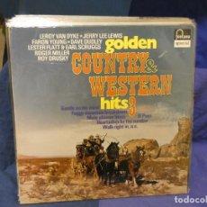 Discos de vinilo: LOTT133-140 LP COUNTRY AND WESTERN HITS VOL 3 ALEMANIA 70S. Lote 288114843