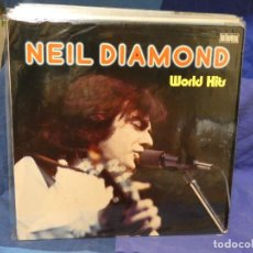 Discos de vinilo: LOTT133-140 LP ALEMANIA 70S NEIL DIAMOND WORLD HITS BELLAPHON CIRCA 1972 ESTADO DECENTE. Lote 288114943