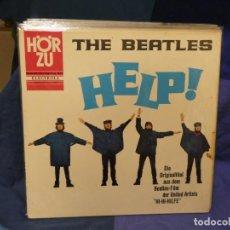 Discos de vinilo: LOTT133-140 LP ALEMANIA CIRCA 1970 HELP! EN LA SERIE HOR ZU, LABEL ROSA VINILO MUY BUEN ESTADO. Lote 288115053
