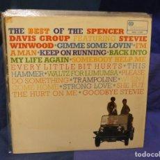 Discos de vinilo: LOTT133-140 LP UK 1967 MUY BUEN ESTADO LABEL ROSA THE BEST OF THE SPENCER DAVIS GROUP. Lote 288115093